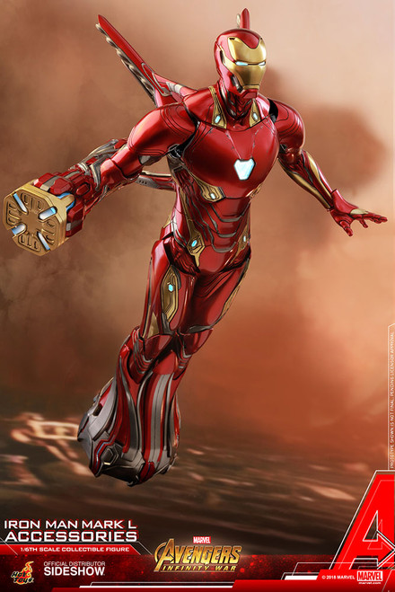 hot toys iron man mark l accessories