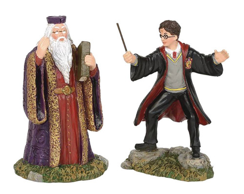 Harry Potter Village: Harry and the Headmaster Figures