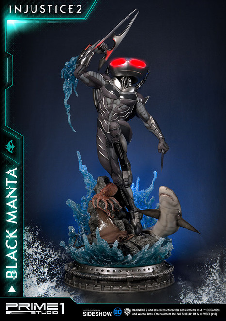 Injustice 2: Black Manta 1:4 Scale Statue