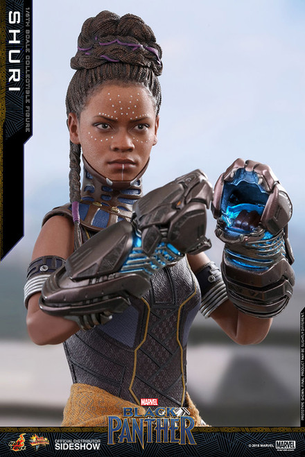 hot toys black panther shuri one sixth scale figure