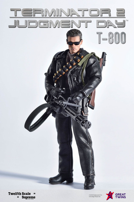 Terminator 2: Judgement Day T-800 1:12 Scale Figure