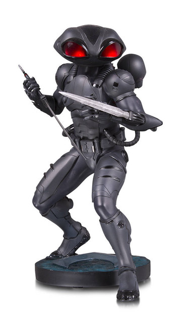 Aquaman Movie Black Manta Statue