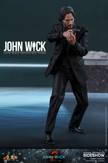hot toys john wick one sixth scale figure
