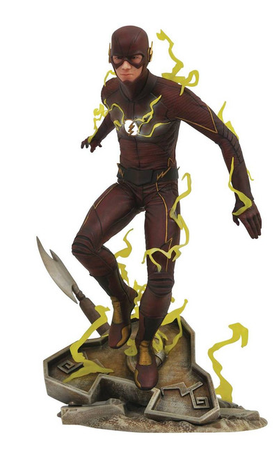 cw gallery flash statue by diamond select toys