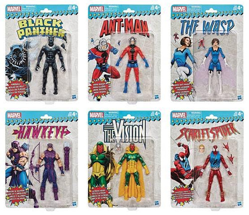 marvel super heroes vintage 6 inch action figures