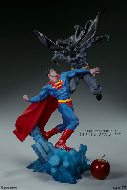 batman vs superman diorama sideshow collectibles