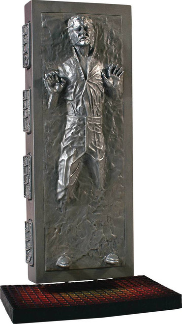Star Wars Collectors Gallery Han Solo Carbonite Statue