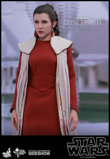 hot toys princess leia bespin one sixth scale figure