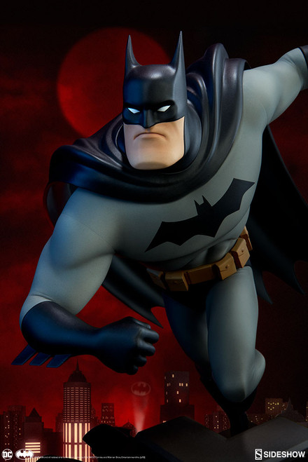 batman animated series statue sideshow collectibles