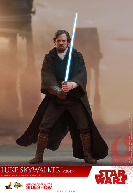 Star Wars: The Last Jedi Luke Skywalker (Crait) 1:6 Scale Figure