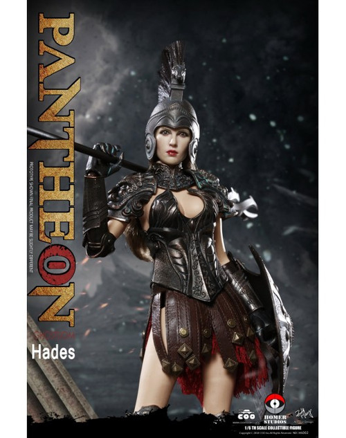 coomodel pantheon underworld goddess hades one sixth scale figure