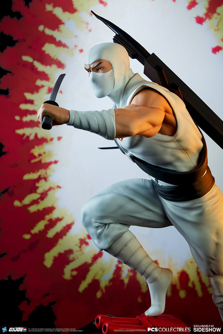 pop culture shock gi joe stormshadow quarter scale statue