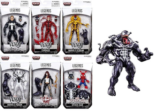 marvel legends venom wave