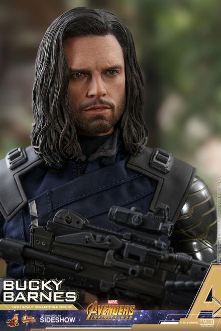 hot toys avengers infinity war bucky barnes one sixth scale figure