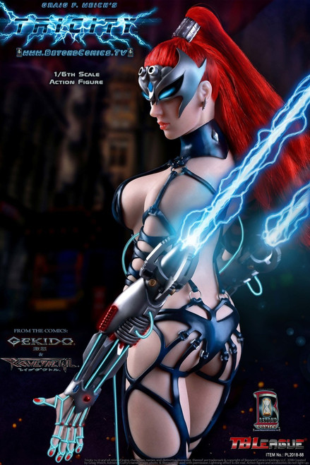 tbleague phicen tricity goddess of lightning one sixth scale figure