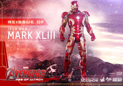 hot toys iron man mark XLIII diecast one sixth scale figure