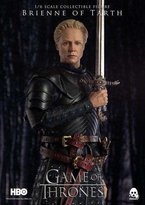 threezero game of thrones brienne of tarth one sixth scale figure