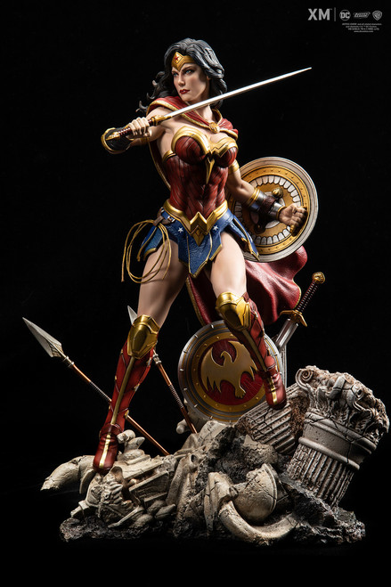 xm studios wonder woman rebirth one sixth scale statue