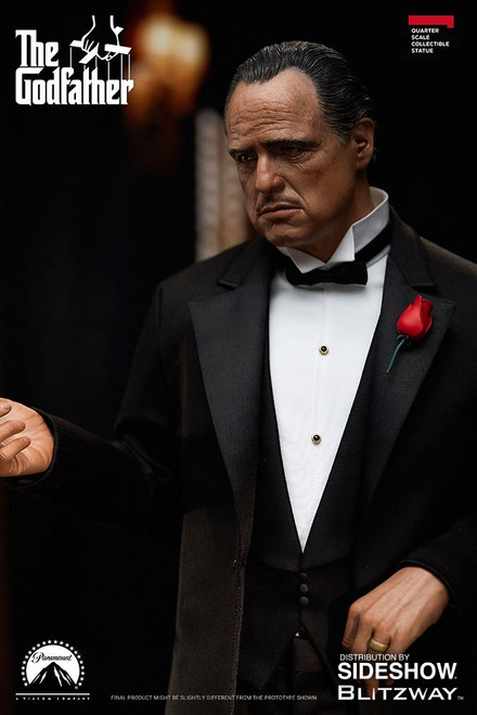 blitzway godfather vito corleone one quarter superb scale statue