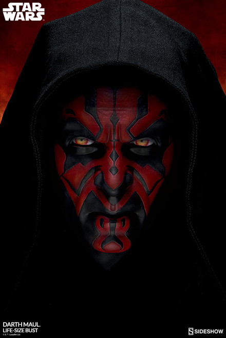 sideshow collectibles darth maul life size bust