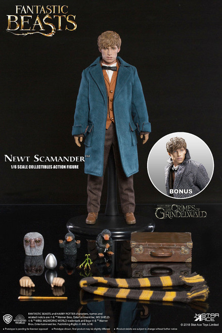 star ace fantastic beasts 2 newt scamander one sixth scale figure