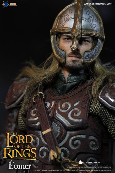 asmus toys lord of the rings eomer one sixth scale figure