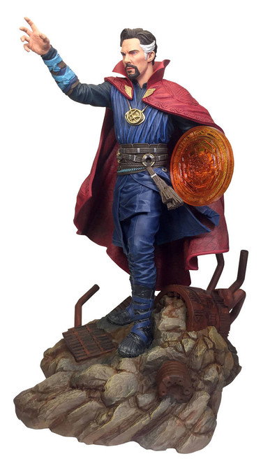 diamond select toys marvel gallery avengers infinity war doctor strange pvc statue