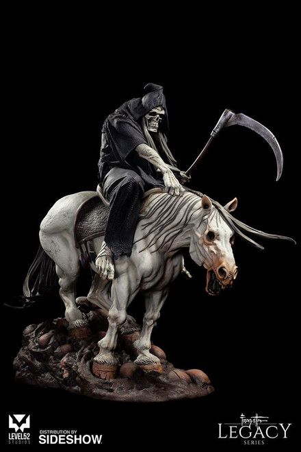 level52 studios frazetta legacy series reaper statue