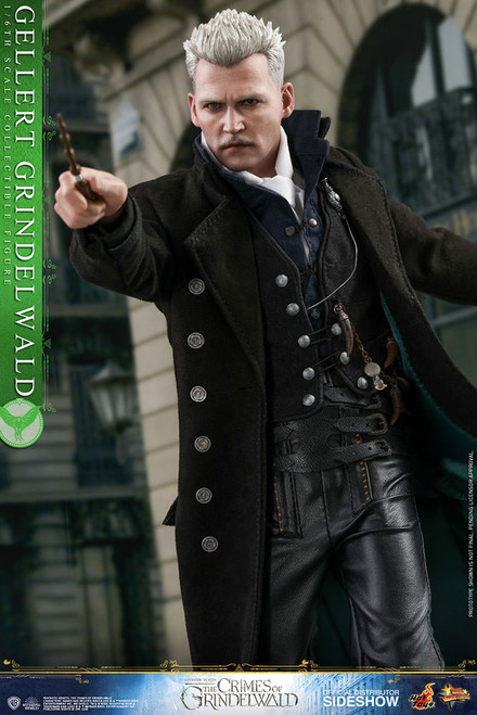 hot toys gellert grindelwald one sixth scale figure