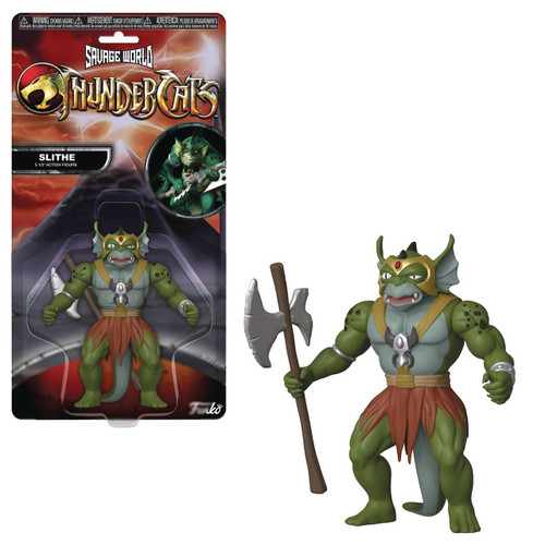 Savage World Thundercats Slithe Action Figure