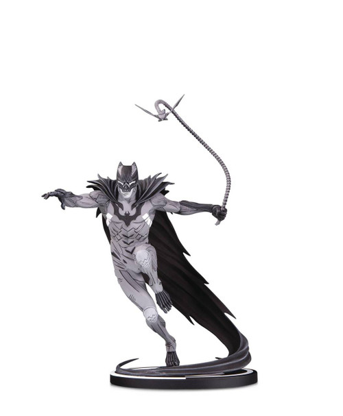 batman black white statue kenneth rocafort