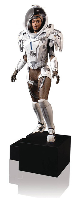 gentle giant star trek discovery michael burnham space suit statue