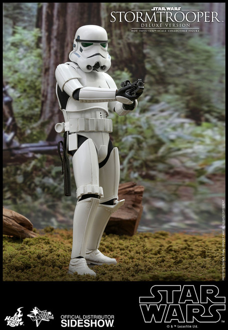 hot toys deluxe stormtrooper one sixth scale figure