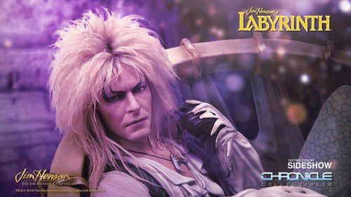 chronicle collectibles labyrinth jareth on throne statue