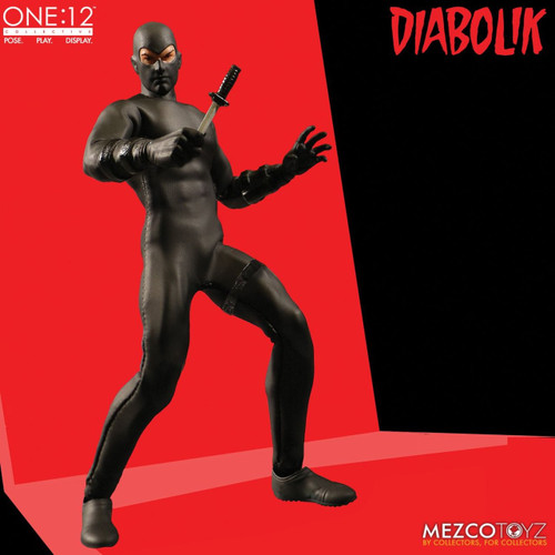 mezco one 12 collective diabolik