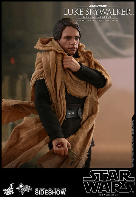 hot toys luke skywalker deluxe return of the jedi
