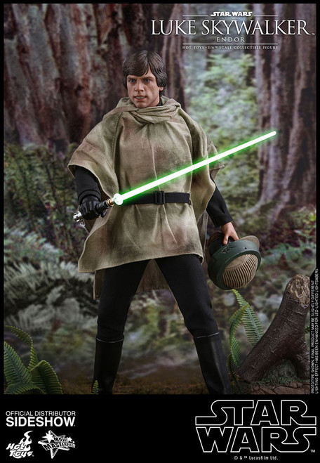 hot toys luke skywalker endor figure