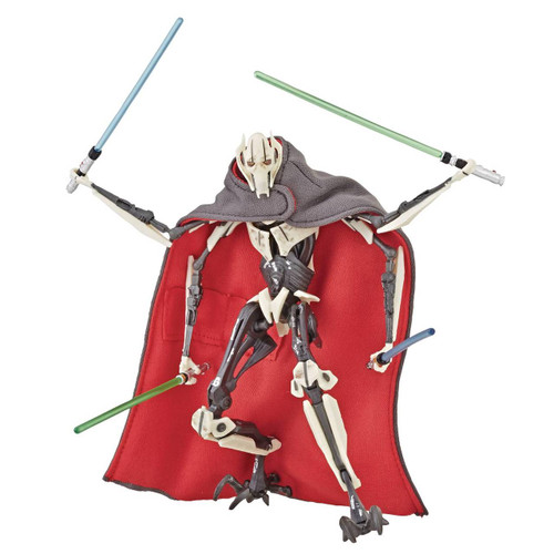 Star Wars Black Series Deluxe General Grievous 6 Inch Figure