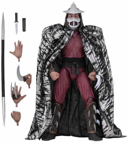 neca shredder 1/4 scale figure