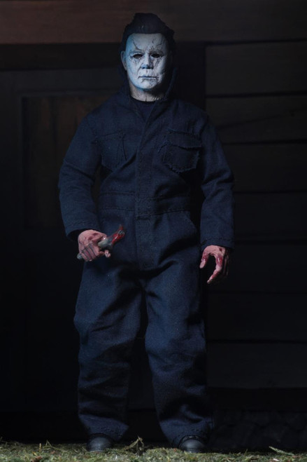 neca michael myers clothed figure