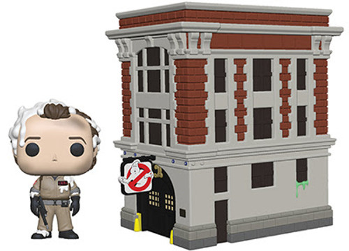 funko pop town ghostbusters firehouse