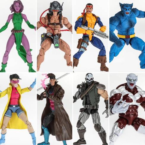 X-Men Legends Wave 4 Set of 7 Figures