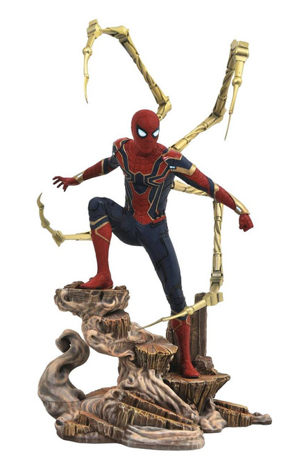 marvel gallery iron spider