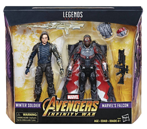 Avengers Legends Winter Soldier and Falcon Figure Set