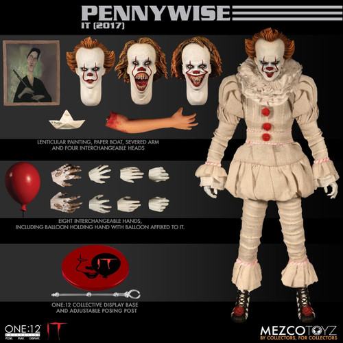 mezco one 12 pennywise