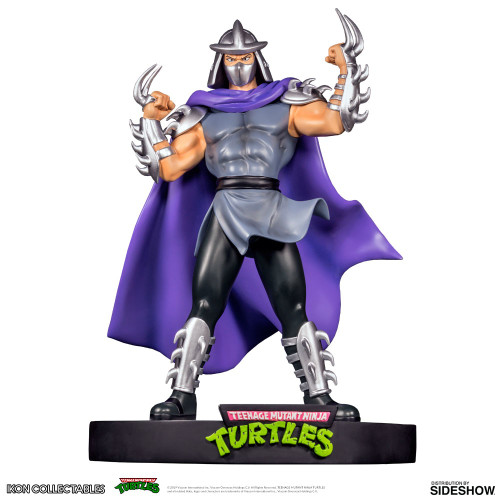 Shredder Statue