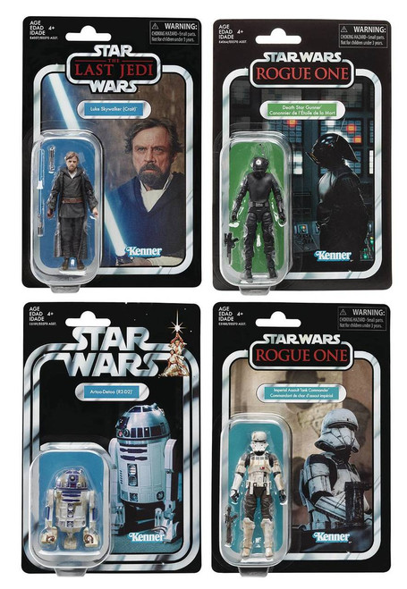 "Star Wars Vintage 3-3/4"" Action Figure Set"