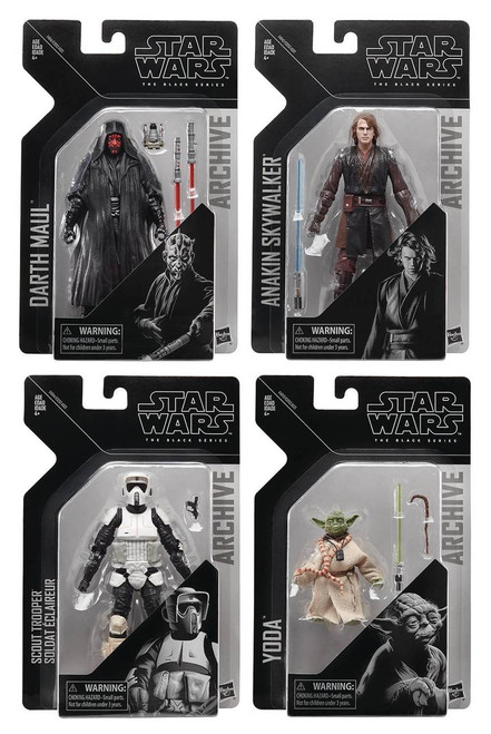 Star Wars Black Series Archive Figure Set