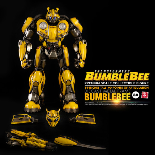 Transformers Bumblebee Movie Premium Scale Figure