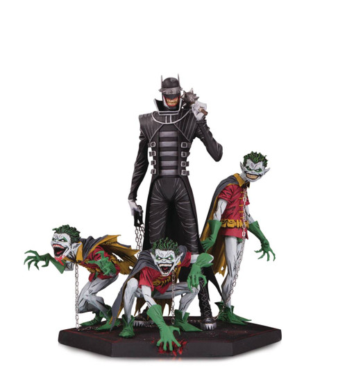 Dark Nights: Metal Batman Who Laughs & Robins Statue